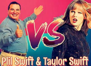 Is Plil Swift and Taylor Swift related?